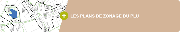 Les plans de zonage du PLU